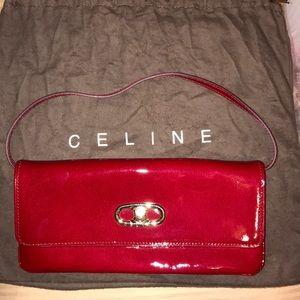 SALE 🏷 Celine Red Shoulder Bag / Clutch